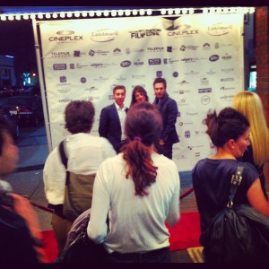 Cast of Ferocious at CIFF red carpet